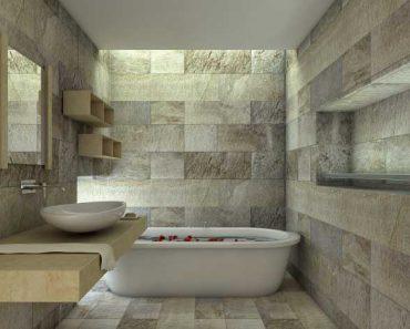 bagno in pietra naturale
