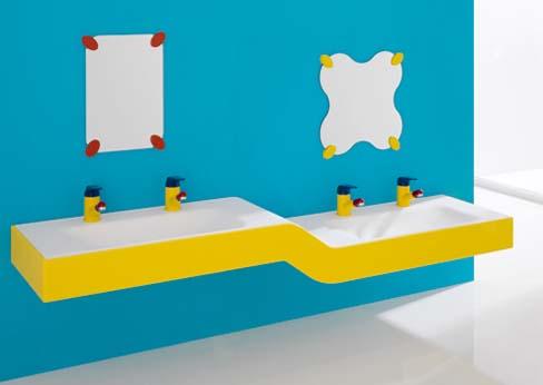 idee per arredare un bagno per i bambini - idee bagno - Arredo Bagno Bambini