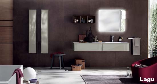 idee archivi - idee bagno - Bagni Moderni Beige E Marrone