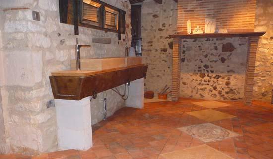 Materiali archivi idee bagno - Bagno finta muratura ...