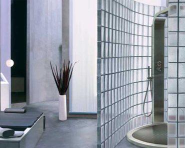 doccia in vetrocemento