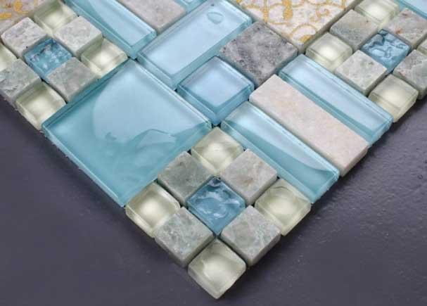 Pareti in vetrocemento per bagni 10 idee meravigliose idee bagno - Piastrelle di vetro ...