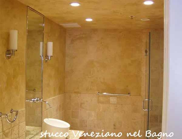 Stucco veneziano alle pareti come realizzarlo i colori idee bagno - Stucco veneziano bagno ...
