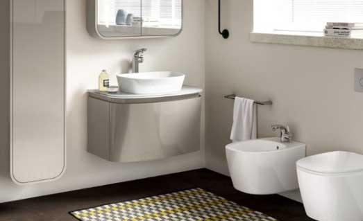 come sfruttare lo spazio sotto il lavabo idee bagno. Black Bedroom Furniture Sets. Home Design Ideas