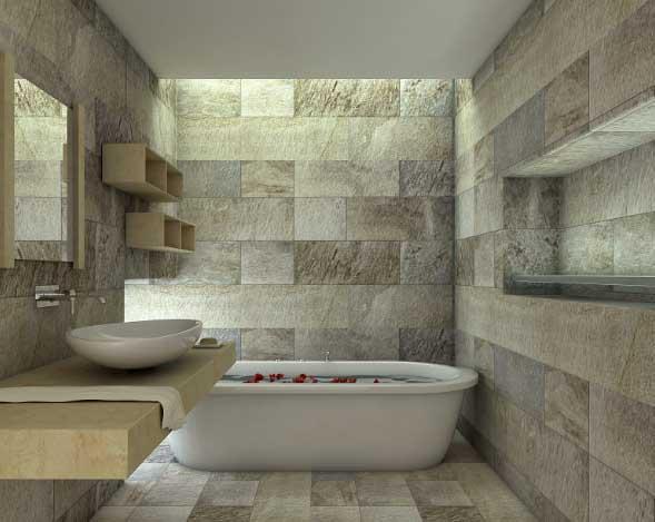 Bagno In Pietra Ricostruita : Idee bagno in pietra naturale e ricostruita
