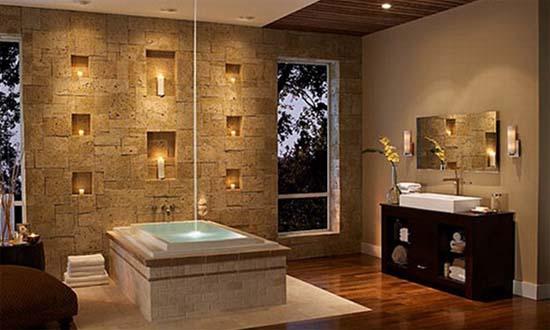 Idee per realizzare un bagno in muratura idee bagno - Bagno finta muratura ...