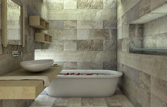 Idee per realizzare un bagno in muratura idee bagno - Idee per rivestire un bagno ...