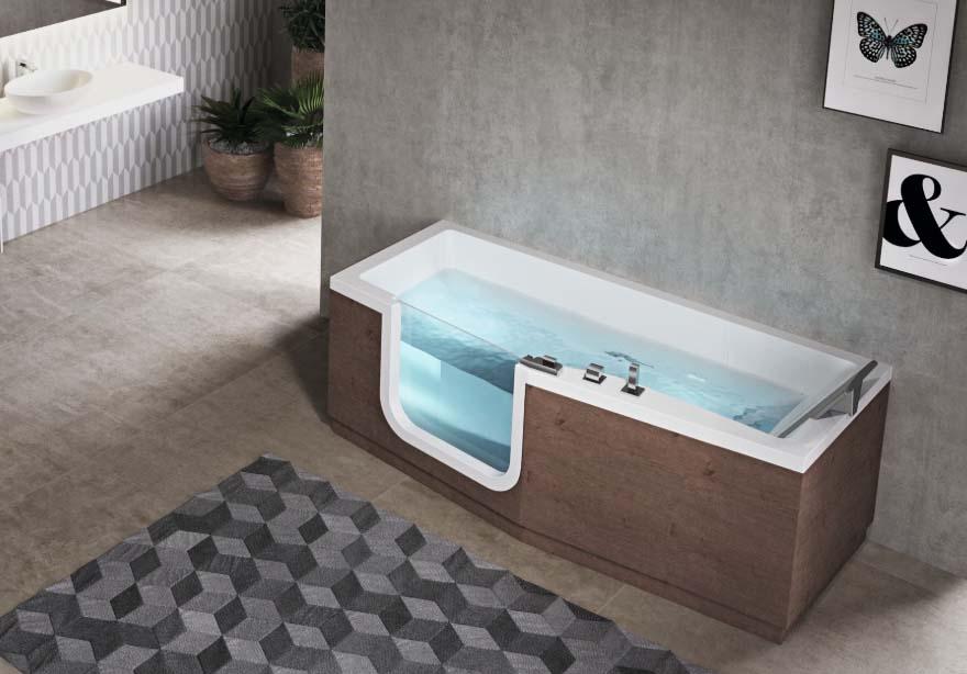 Vasche Da Bagno Con Apertura Laterale Prezzi E Informazioni Idee Bagno